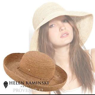 ヘレンカミンスキー(HELEN KAMINSKI)の☆HELEN KAMINSKI ヘレンカミンスキー provence12☆(麦わら帽子/ストローハット)