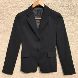 アンタイトル(UNTITLED)のUNTITLED アンタイトル ジャケット 黒 ブラック 0(テーラードジャケット)