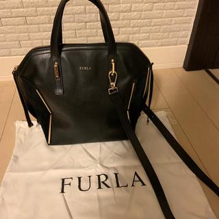 Furla - 値下げ‼︎☆フルラ  2wayバッグ ブラック