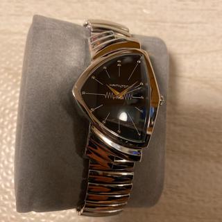 ベンチュラ(VENTURA)の人気品! HAMILTON ベンチュラ H244112 蛇腹 シルバー 銀 人気(腕時計(アナログ))