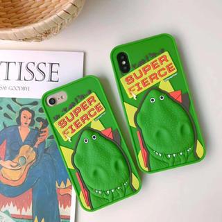 トイストーリー(トイ・ストーリー)のレックス iphoneケース スマホケース 携帯ケース(iPhoneケース)