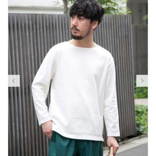 アーバンリサーチ(URBAN RESEARCH)のURBAN RESEARCH バスクTシャツ ロングTシャツ カットソー(Tシャツ/カットソー(七分/長袖))