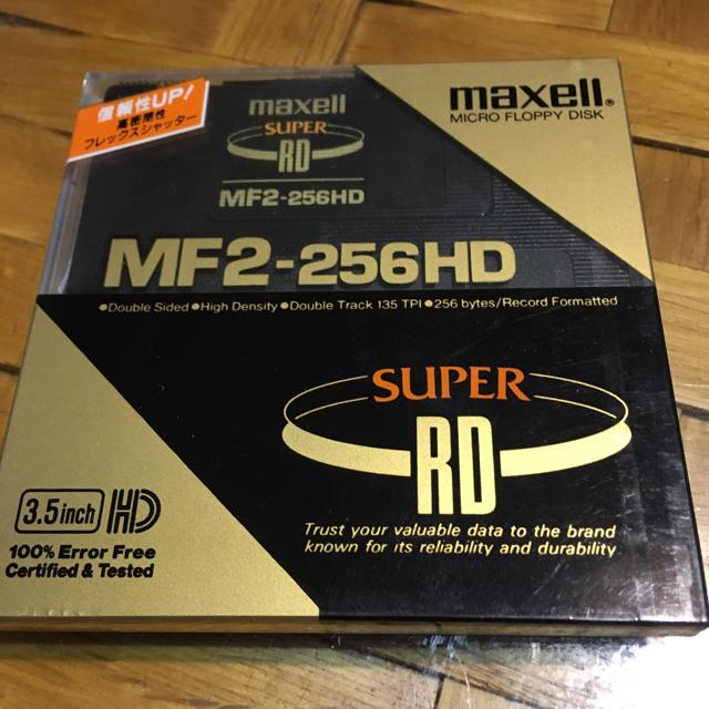 maxell(マクセル)のフロッピーディスク スマホ/家電/カメラのPC/タブレット(PC周辺機器)の商品写真