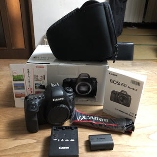 Canon - Canon EOS 6D MARK2 ボディ  ※カメラバッグ付き