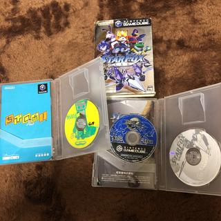 ニンテンドーゲームキューブ(ニンテンドーゲームキューブ)のスターフォックスアサルト、ちびロボ+おまけ(家庭用ゲームソフト)