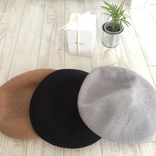 ケービーエフ(KBF)のサーモベレー帽(ハンチング/ベレー帽)