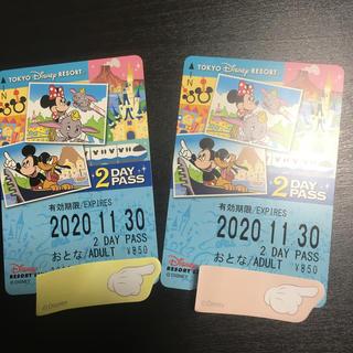 ディズニー(Disney)のディズニーリゾートライン フリーきっぷ 2day pass 大人2枚(その他)