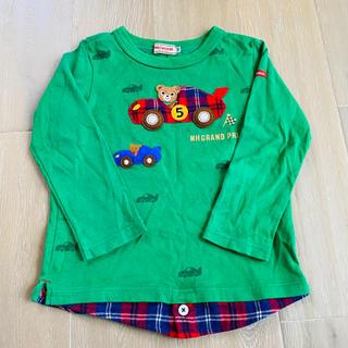 ミキハウス(mikihouse)のミキハウス プッチー くるま ロンT 100(Tシャツ/カットソー)