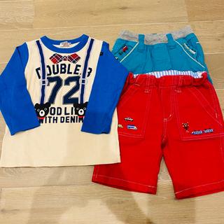 ダブルビー(DOUBLE.B)の【専用】ミキハウス グレードスコープ おまとめ 90 100(Tシャツ/カットソー)