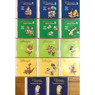Disney - DWE ディズニー英語システム CD14枚 Story and songs