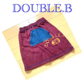 ダブルビー(DOUBLE.B)のDOUBLE.B スカート(スカート)
