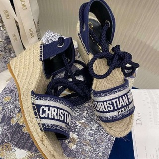 クリスチャンディオール(Christian Dior)のサンダル★35★22.5(サンダル)