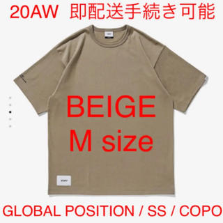 W)taps - GLOBAL POSITION / SS / COPO BEIGE M