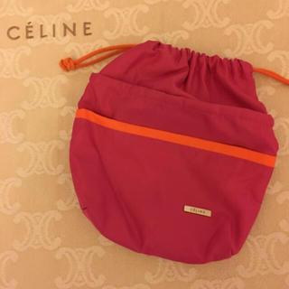 セリーヌ(celine)のセリーヌ巾着ポーチ(ポーチ)