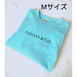 Tiffany & Co. - ティファニー Tiffany Tシャツ 半袖 トップス ロゴ Mサイズ おしゃれ
