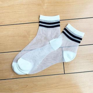 未使用 レディース 靴下 22-24cm(ソックス)