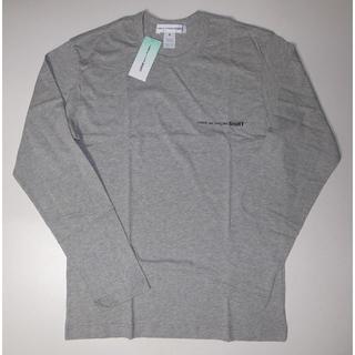 コムデギャルソン(COMME des GARCONS)のコムデギャルソン grey ロングTシャツ カットソー sizeM(Tシャツ/カットソー(七分/長袖))