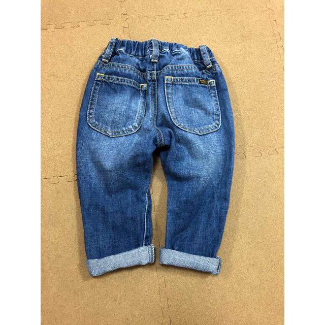 MARKEY'S(マーキーズ)のマーキーズ:デニムパンツ(80) キッズ/ベビー/マタニティのベビー服(~85cm)(パンツ)の商品写真