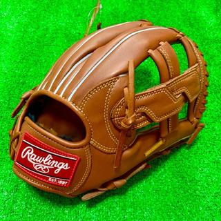 Rawlings - 新品 高校野球対応 ローリングス 硬式用 内野手用 グローブ クロスウェブ BR