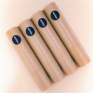 ニベア - ニベア ディープモイスチャー リップクリーム バニラ&マカダミアの香り