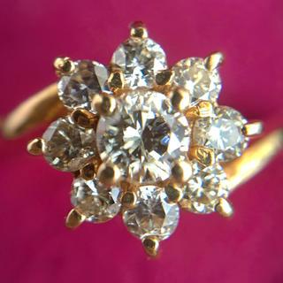 セイコー(SEIKO)のk18  ダイヤモンドリング(リング(指輪))