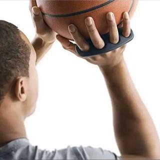 バスケットボール 練習 シューティングギア Mサイズ フォーム修正 黒色(バスケットボール)
