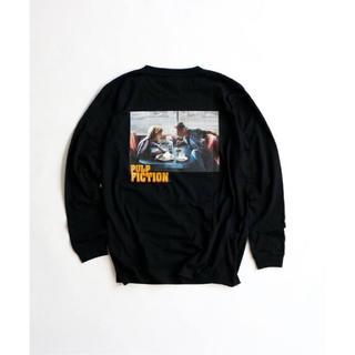 ジャーナルスタンダード(JOURNAL STANDARD)の【PULP FICTION for relume】コラボ ロングTシャツ(Tシャツ/カットソー(七分/長袖))