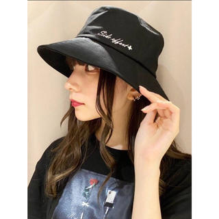 イートミー(EATME)のタイムセール0時まで☆EATME イートミー 人気完売 ロゴ入り 帽子 ハット(ひざ丈ワンピース)