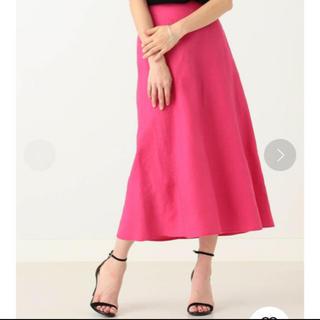 デミルクスビームス(Demi-Luxe BEAMS)のDemi-Luxe BEAMS リネンフィット&フレアスカート(ロングスカート)