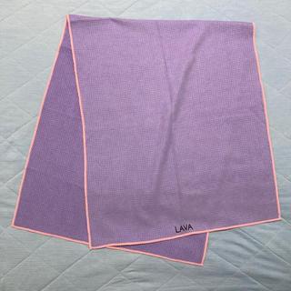 LAVA RUG ラバ ラグ パープル×ピンク 紫(ヨガ)