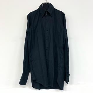 ジョンローレンスサリバン(JOHN LAWRENCE SULLIVAN)のジョンローレンスサリバン カジュアル シャツ ボタンダウン ブラック a560(シャツ)