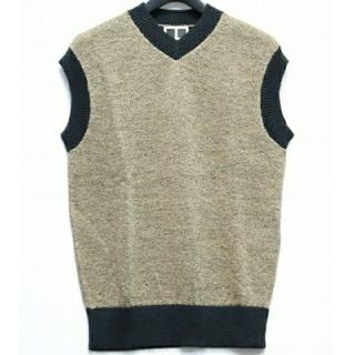 ニードルス(Needles)のTASHIRO Knit vest(BLACK MIX)(ベスト)