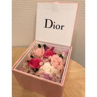ディオール(Dior)の(非売品)ディオールdior プリザーブドフラワー ノベルティ(プリザーブドフラワー)