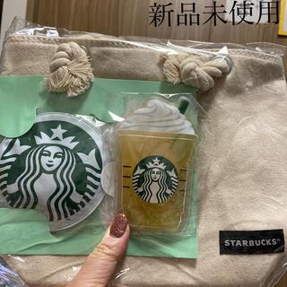 スターバックスコーヒー(Starbucks Coffee)のスタバ 保冷バッグ、保冷剤セット(その他)