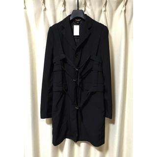 ブラックコムデギャルソン(BLACK COMME des GARCONS)のBLACK COMME des GARCONS ベルトデザイン コート L(トレンチコート)