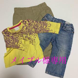 ディーゼル(DIESEL)のDIESEL デニムパンツ Tシャツ 80 2点セット(Tシャツ)