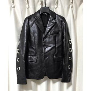 ブラックコムデギャルソン(BLACK COMME des GARCONS)のブラックコムデギャルソン リングデザイン テーラード ジャケット S(ブルゾン)