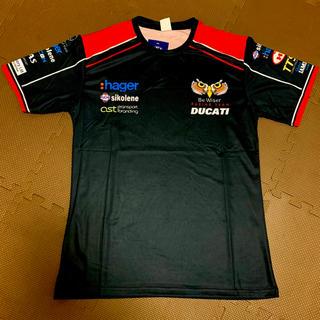 Be Wiser Racing DUCATI ドライTシャツ Lサイズ 新品(Tシャツ/カットソー(半袖/袖なし))