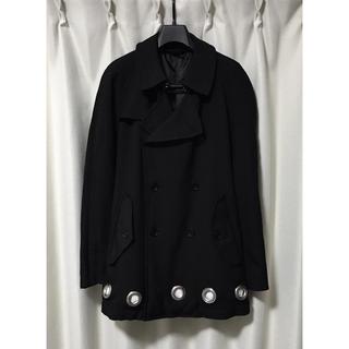 ブラックコムデギャルソン(BLACK COMME des GARCONS)のBLACK COMME des GARCONS リングデザイン  コート L(トレンチコート)