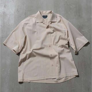 ユナイテッドアローズ(UNITED ARROWS)のmaison special オープンカラーシャツ 半袖シャツ(シャツ)