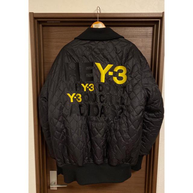 Y-3(ワイスリー)のY3 オーバーサイズ ボンバージャケット メンズのジャケット/アウター(フライトジャケット)の商品写真