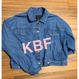 ケービーエフ(KBF)のKBF 美品 2WAY変形Gジャン デニム オーバーサイズ ジャケット(Gジャン/デニムジャケット)