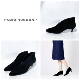 ファビオルスコーニ(FABIO RUSCONI)の■2019AW リフト新品 定3.1万 ファビオルスコーニ ショートブーツ 38(ブーツ)