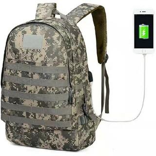 PUBG バックパック 充電機能 usb 付き 鞄LEVEL 3 リュック(バッグパック/リュック)