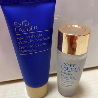 エスティローダー(Estee Lauder)の新品未開封 エスティローダー マイクロエッセンスローション マイクロクレンジング(化粧水/ローション)