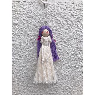 ザラ(ZARA)のマクラメ人形キーホルダー#1(キーホルダー)