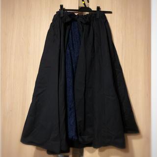 アメリヴィンテージ(Ameri VINTAGE)の新品☆ ameri vintage 2wayフレアースカート コラボ 別注カラー(ロングスカート)