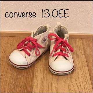 コンバース(CONVERSE)のconverse オールスター ハイカット 生成り 13.0(スニーカー)