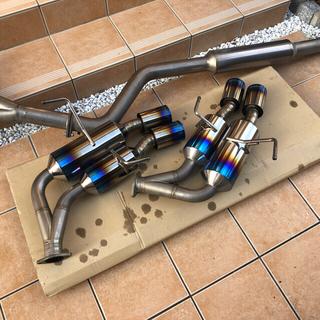 スバル(スバル)のWRX STI VAB ROWEN ローウェン チタンレギュラースペックマフラー(車種別パーツ)