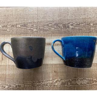 タリーズコーヒー(TULLY'S COFFEE)のタリーズ 信楽焼 マグカップセット(グラス/カップ)